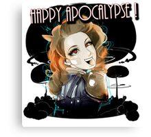 HAPPY APOCALYPSE 1  Canvas Print