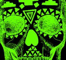 KAPPA DELTA GREEN SKULL Sticker