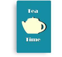 Tea Time (Minimalist) Canvas Print