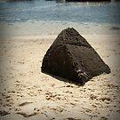 Shark Net Bay Pyramid by Les Boucher
