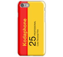 Kodaphone 25 iPhone Case/Skin