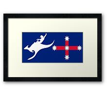 New Australian Flag design AFL2 Framed Print
