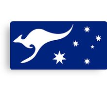 New Australian Flag Design AFL3 Canvas Print
