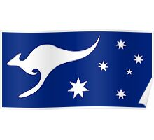 New Australian Flag Design AFL3 Poster