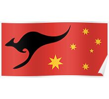 New Australian Flag Design AFL4 Poster