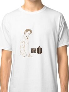 Sketchy 11th Doctor  Classic T-Shirt