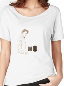 Sketchy 11th Doctor  Women's Relaxed Fit T-Shirt