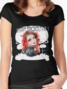 HAPPY APOCALYPSE 2 Women's Fitted Scoop T-Shirt