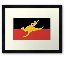 New Australian Flag Design AFL8 Framed Print