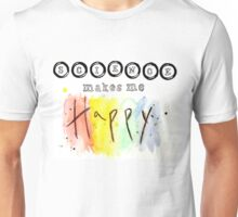 Science Makes Me Happy Unisex T-Shirt