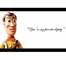 woody Photographic Print