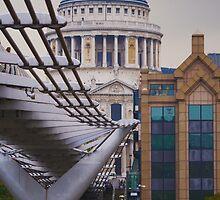 Saint Paul cathedral London by davidautef