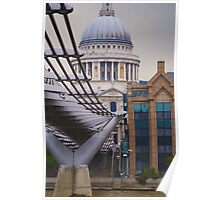 Saint Paul cathedral London Poster