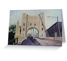 Walter Taylor Bridge, Chelmer Greeting Card