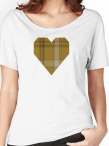 00869 WC WM 969-2 Tartan Women's Relaxed Fit T-Shirt