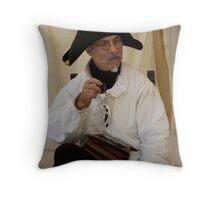 Polite French Man Throw Pillow