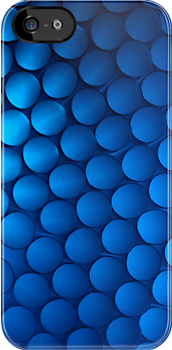 Just Blue - iPhone Case by Bryan Freeman