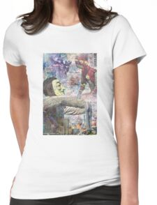 Baltimore Riots Tribute Womens Fitted T-Shirt