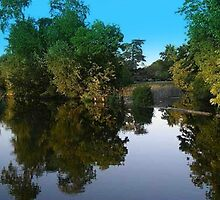 Riverside Reflections by Mike Streeter