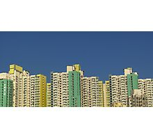 Buildings, Kowloon, Hong Kong Photographic Print