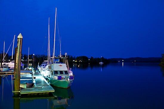 Blue Waters - Johnstone River, Innisfail NQ by Giovanna Devlin