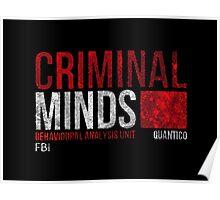 Criminal Minds BAU Poster