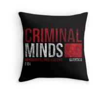Criminal Minds BAU Throw Pillow