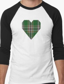 00870 WC WM  972-1 Tartan Men's Baseball ¾ T-Shirt