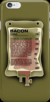 Intravenous Bacon by robotrobotROBOT