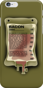 Intravenous Bacon by robotrobotROBOT