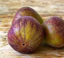 Figs on the table by Ivo Velinov