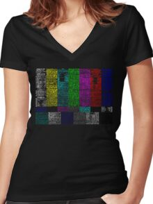 there's a reason it's called programming Women's Fitted V-Neck T-Shirt