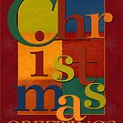 Christmas Scramble Greeting Card by William Martin