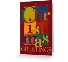 Christmas Scramble Greeting Card Greeting Card