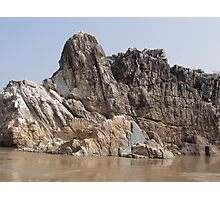 These rocks simply rock! Photographic Print