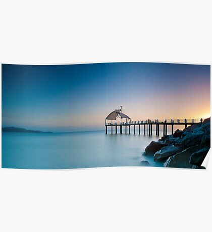 A New Dawn at the Strand Jetty Poster