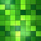 Green Checkerboard by CaseBase