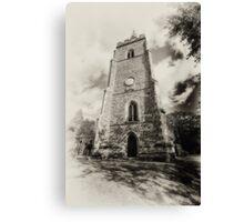 St Mary church,, Bitteswell Canvas Print