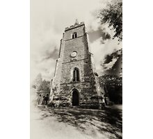 St Mary church,, Bitteswell Photographic Print