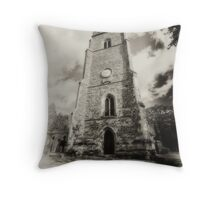 St Mary church,, Bitteswell Throw Pillow