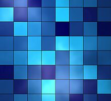 Blue Checkerboard by CaseBase