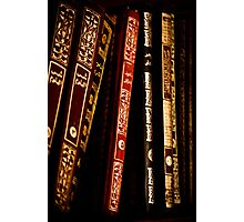Books at Nakhal Fort Photographic Print