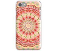 Tequila Sunrise Mandala iPhone Case/Skin