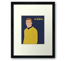 Captain Kirk Framed Print