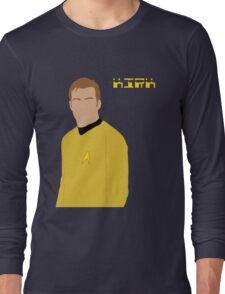Captain Kirk Long Sleeve T-Shirt