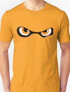 Squid Kid Eyes - Orange Unisex T-Shirt