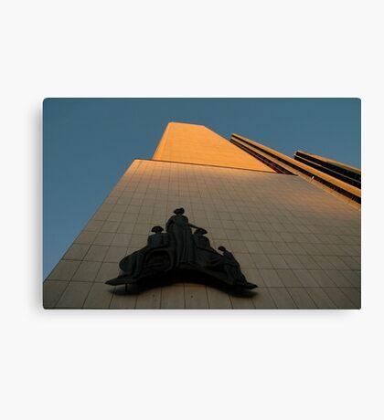 Sculpture, AMP Building, Sydney, Australia 2005 Canvas Print