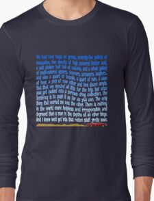 Serious Drug Collection Long Sleeve T-Shirt