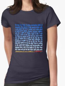 Serious Drug Collection Womens Fitted T-Shirt