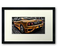 Ferrari Dream II Framed Print
